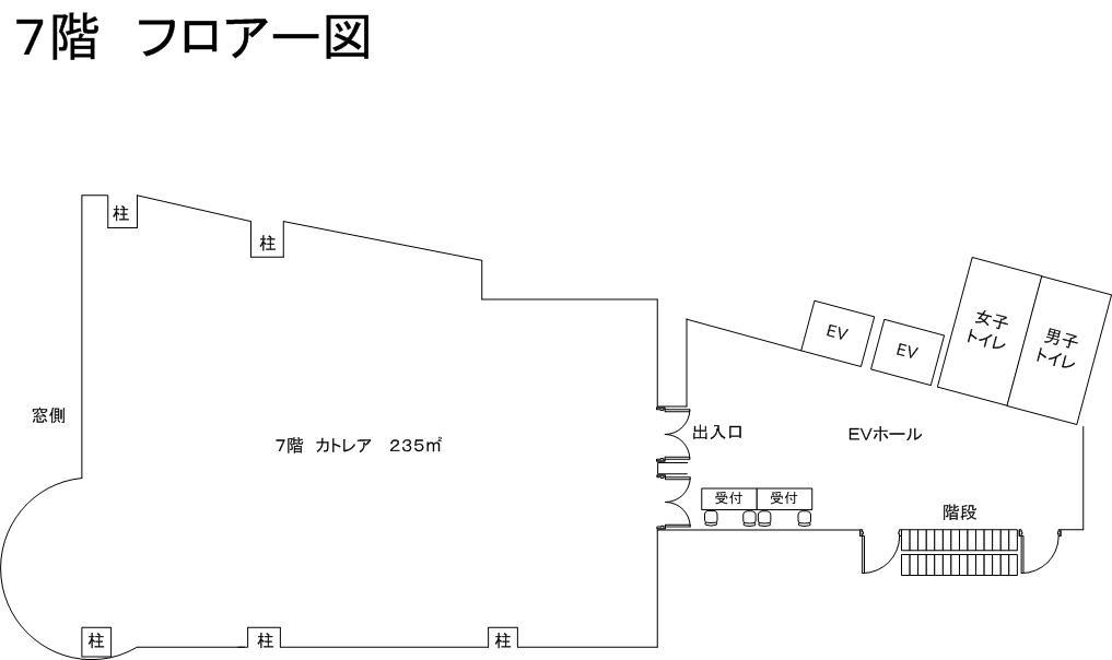 7階フロアー図